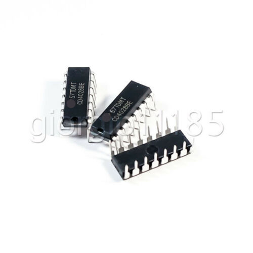US Stock 9pcs CD4028BE 4028 HEF4028 BCD to Decimal Decoder IC New