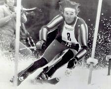 1975 AP Wire Photo Alpine Skiing Men's Slalom World Cup ski racer Piero Gros