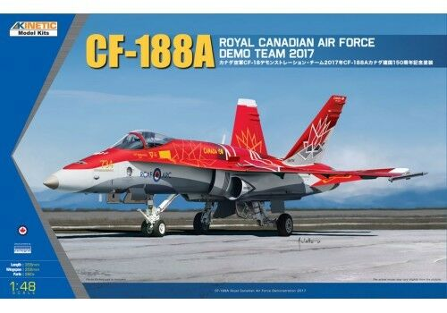 Kinetic 1 48 CF-188A Royal Canadian Air Force Demo Team 2017
