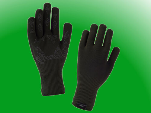 Seal Skinz wasserdichte wasserfeste Handschuhe Ultra Grip oliv