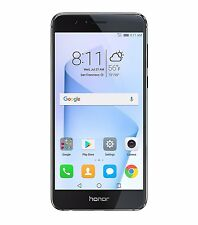 Huawei Honor 8 Dual Camera Unlocked Smartphone 32GB 4GB Midnight Black+GIFT OB