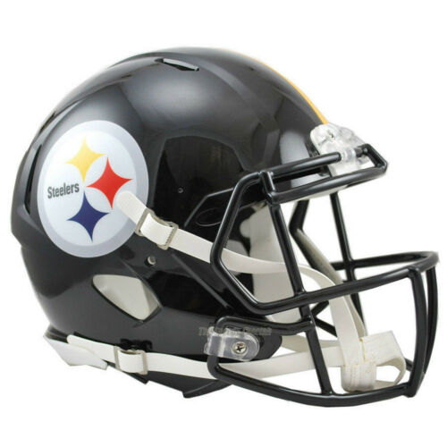 PITTSBURGH STEELERS RIDDELL AUTHENTIC SPEED FOOTBALL HELMET