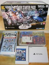 PlayStation SONY PS Vita PCHL-60001 GUNDAM BREAKER Wi-fi Limited Model Bundle