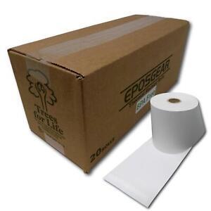 20 Sharp xe-a212 xe-a213 xe-a217 De Papel Térmico Caja Registradora Recibo De Caja Rollos
