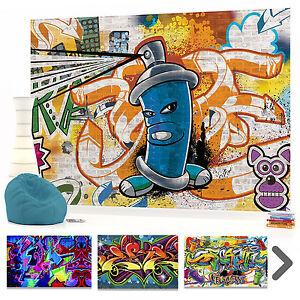 Murale parete photo foto carta da parati graffiti ragazzi for Carta da parete per camera da letto