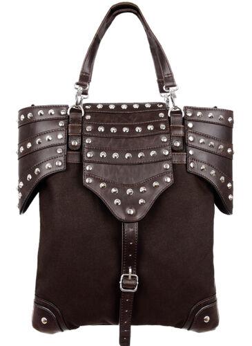 Restyle Steampunk Handtasche Gothic Tasche 90s Armor Bag Vintage Punk Nugoth Wgt