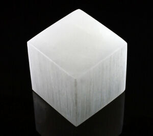 XL-Selenite-Crystal-Charging-Disk-Plate-Cube-Square-Statio-Block-Healing-Cleanse