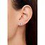 Details about  /3 Pair 8mm 14K Yellow Gold Plated CZ Round Square /& Heart Cut Stud Earrings