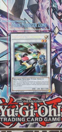 Formula Synchron Secret Rare LC5D-EN041 1st Edition NM Yu-Gi-Oh!