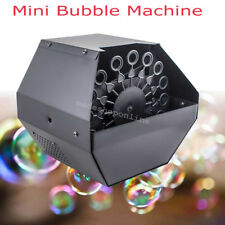 Automatic Deluxe 16 Wand Bubble Maker Machine Auto Blower For DJ Party Kids Fun