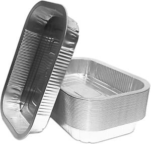 Grillschalen, 25 AluschalenPassend für WeberHigh Quality Alu-Tropfschalen