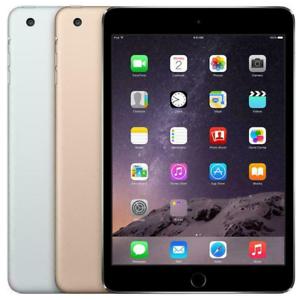 Apple iPad Mini 3 16GB 64GB 128GB Wi-Fi Cellular LTE 7.9″ Gold Silver Space Gray
