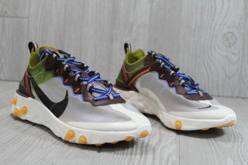 50 Nike React Element 87 Moss El Dorado Sz 9.5 15 AQ1090-300 Men/'s Shoes