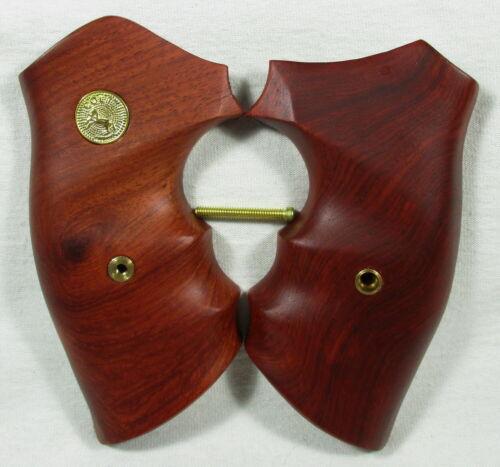 Short Square Butt New wood grips for Colt Detective D Frame