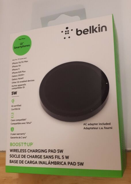 Belkin Boost Up Wireless Charging Pad 5W – Qi Wireless Charger,New (Sealed)
