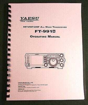 Premium Card Stock Covers /& 32 LB Paper! Yaesu FT-1000MP Instruction manual