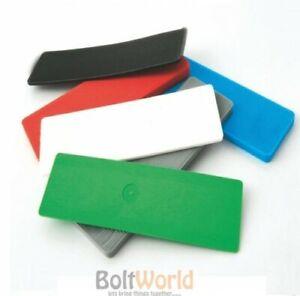 Flooring /& Framing Spacers 1000 x Plastic Window /& Glazing Packers 1mm Green