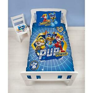 Paw-patrol-Super-Junior-Set-Housse-de-Couette-Bebe-Enfants