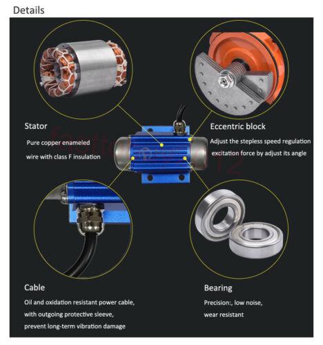 25W Hochwertiger bürstenloser Gleichstrom-Vibrationsmotor schnelle Lieferung 12V