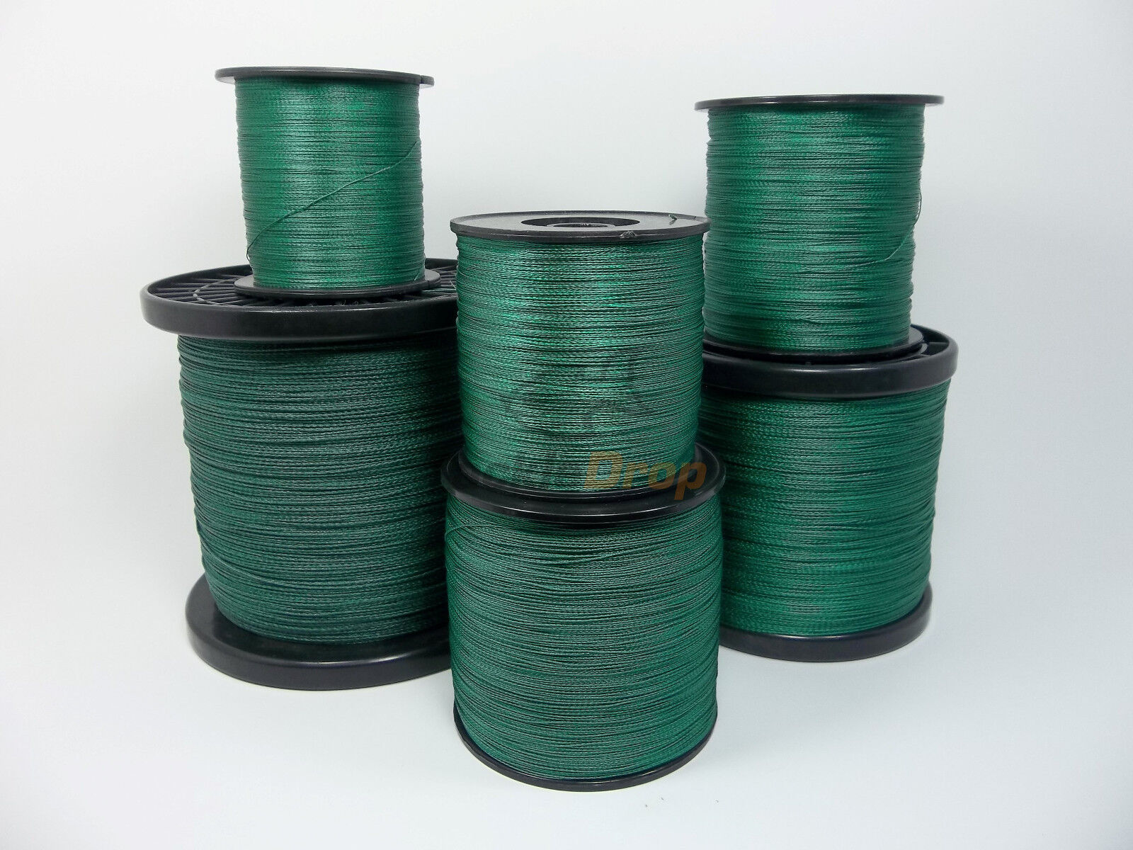 1500M  65LB Super Strong 4 Strand Pro PE Power Braided Fishing Line 1500 YD YDS
