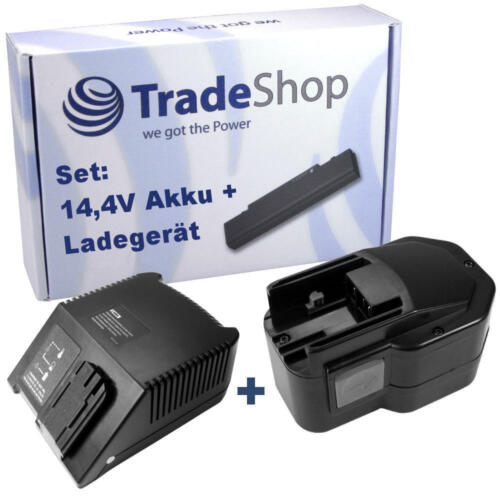 2in1 set Batterie 14,4v 3300mah Nimh chargeur pour Milwaukee 48-11-1014 48-11-1024