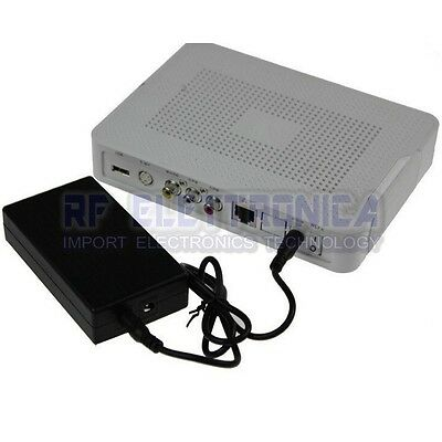 12V1A 14.8W Mini UPS Battery Backup Security Standby Power Power Supply Uninterr