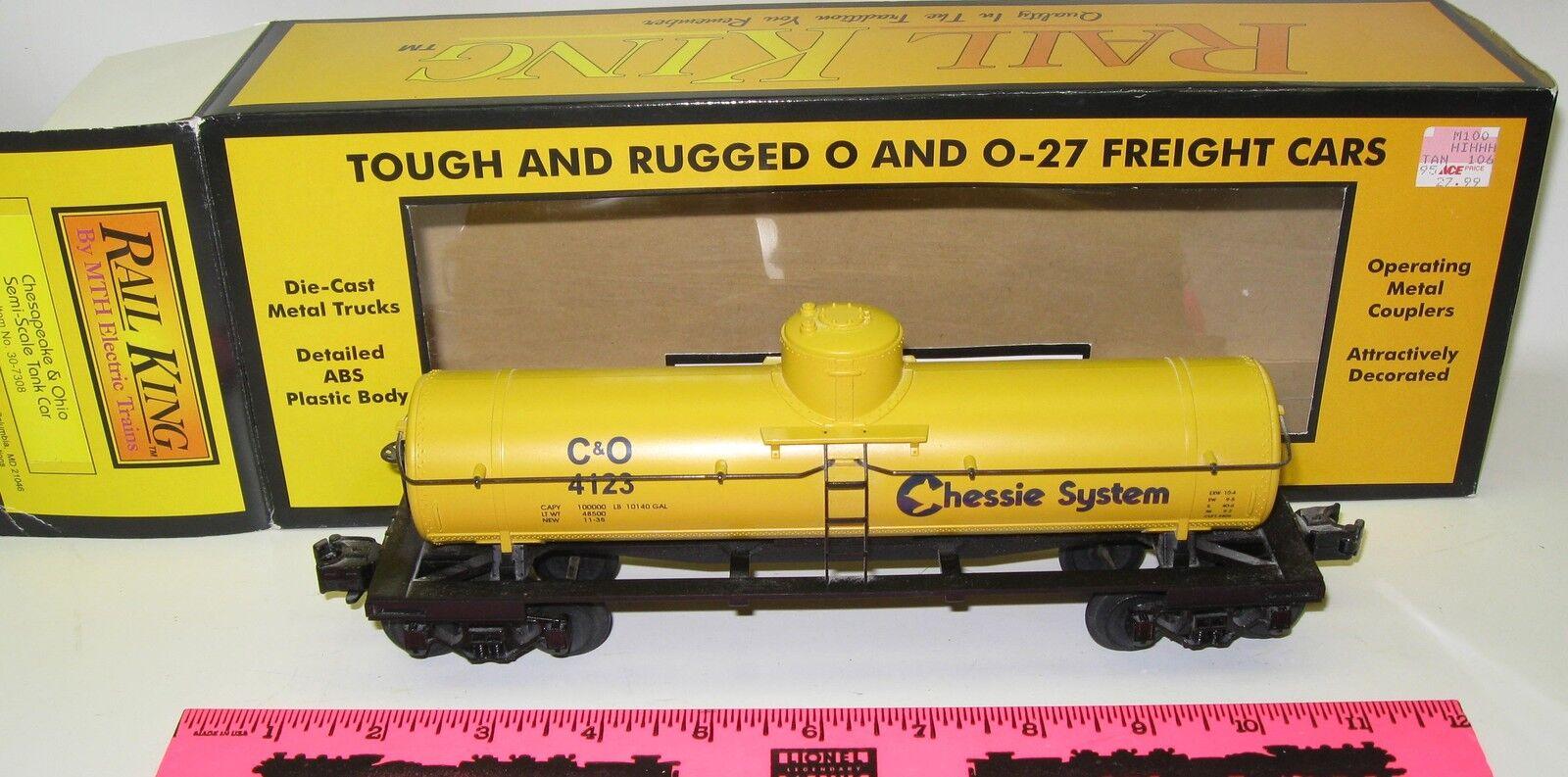 Rail King By MTH ItemChesapeake & Ohio Semi-Scale Tank Car