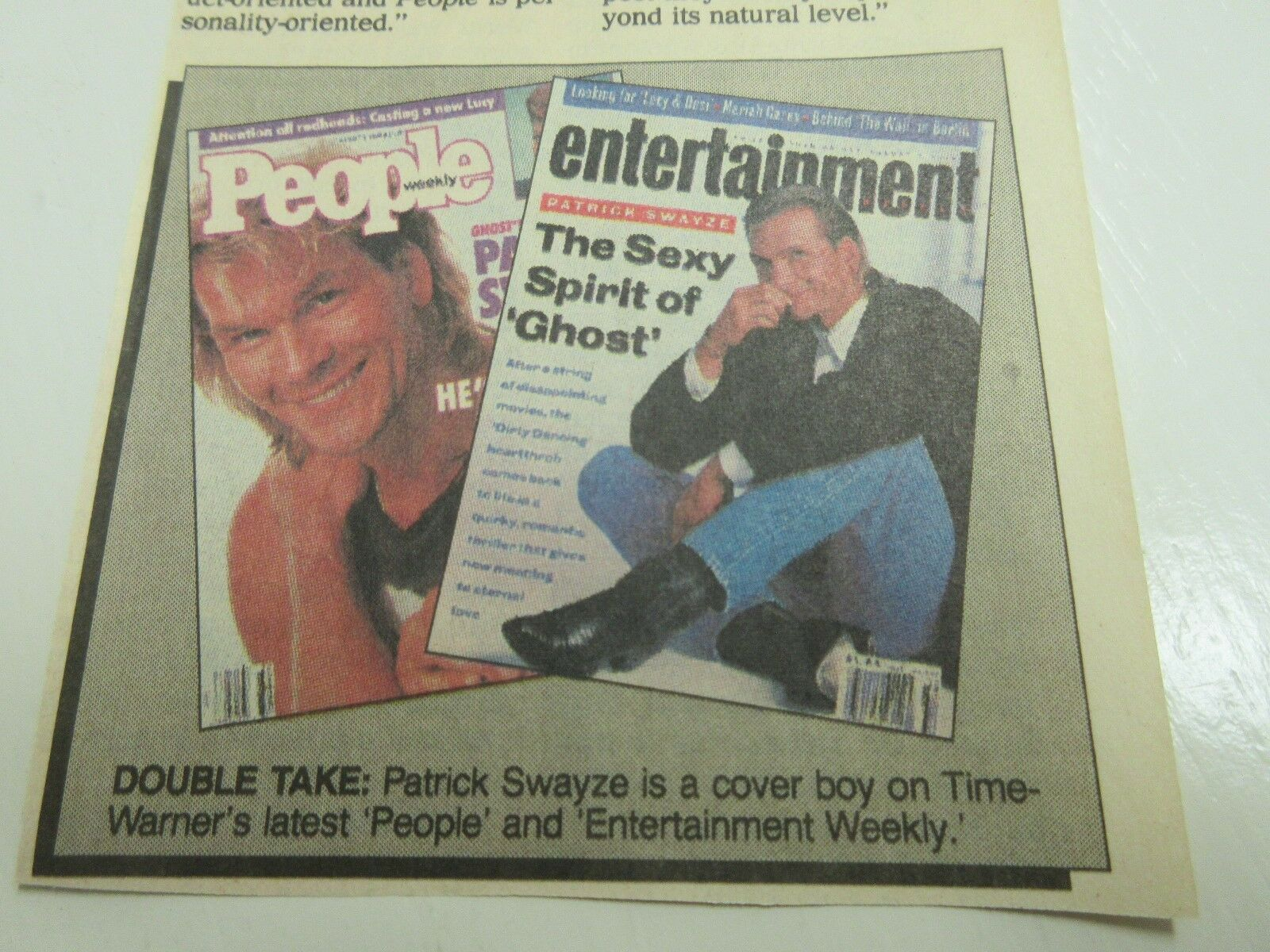 Newspaper Clippings , Steve Reeves , Myerson, Swayze ,