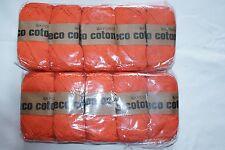 """Lote de Trabajo de Oxford 'Eco Coton """"Naranja Dk Tejido De Lana - 1000g"""