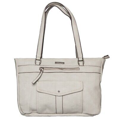 Tamaris Adriana Shopping Bag Shopper Borsa A Tracolla Grey 2651181-204-mostra Il Titolo Originale