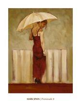 Promenade II - Mark Spain --Figurative, People and Potraits  Online Art Print Wa