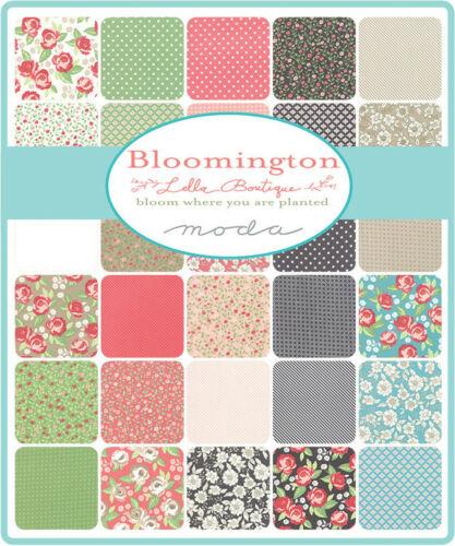 """Bloomington Moda Mini paquete de encanto 42 100/% algodón 2.5/"""" plazas de edredón precortada"""