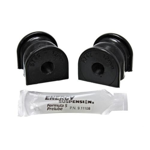 Energy Suspension Sway Bar Bushing Kit 16.5135G; 12mm Rear Black for Civic//CRX