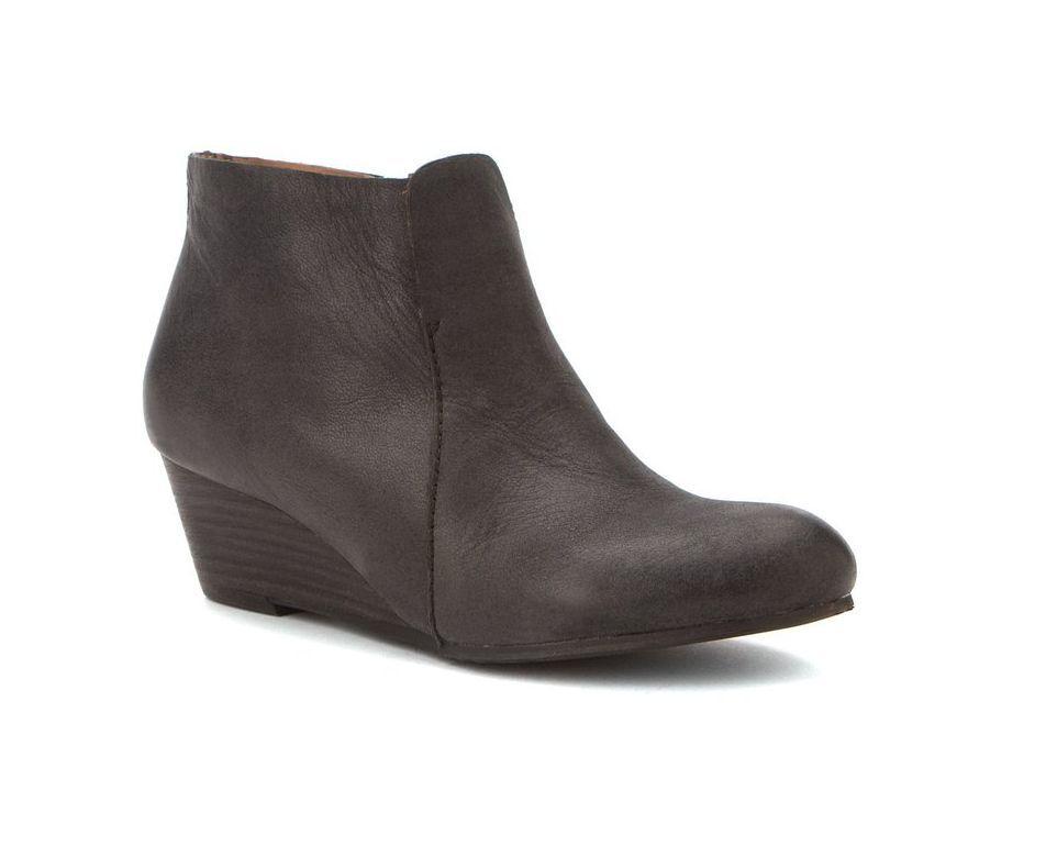 Damenschuhe Stiefel - NICOLE - schwarz - ANKLE -Leder-  Größe 8 - NEW