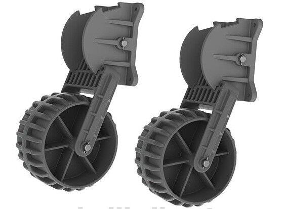 Kolibri Transporträder für SchlauchStiefele - Slipräder Heckräder klappbar klappbar klappbar b27e08