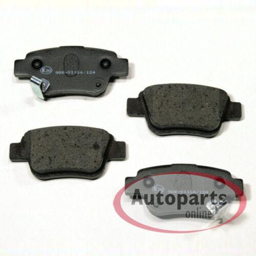 Bremsscheiben Bremsen Bremsbeläge für hinten T25 Toyota Avensis