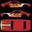 2017 Hot Wheels /'67 Camaro TH/' Replica Decal SCR-0581