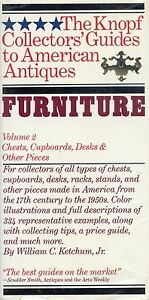 Details about Antique American Furniture - Chests Cupboards Desks Etc. /  Scarce Book