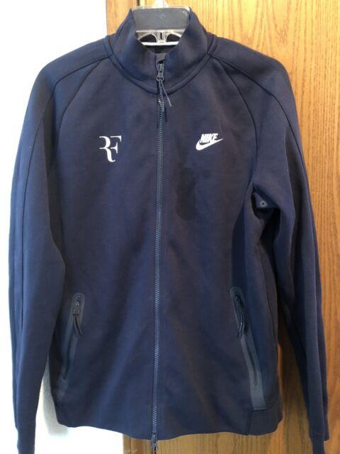 Nike Premier Roger Federer Tech Fleece Jacket Violet Mist 856471 514 Mens Small For Sale Online Ebay