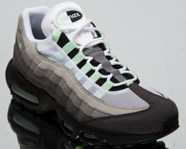 promo code 7739b 1dc7e Nike Air Max 95 Fresh Mint Mens White Grey Shoes Casual Sneakers CD7495-101
