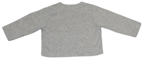 JACADI Girl/'s Asseoir China Grey Button Up Cardigan Sz 6 Months NWT $34