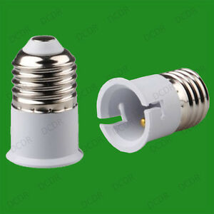 Edison-Screw-ES-E27-To-Bayonet-BC-B22-Light-Bulb-Adaptor-Lamp-Converter-Holder