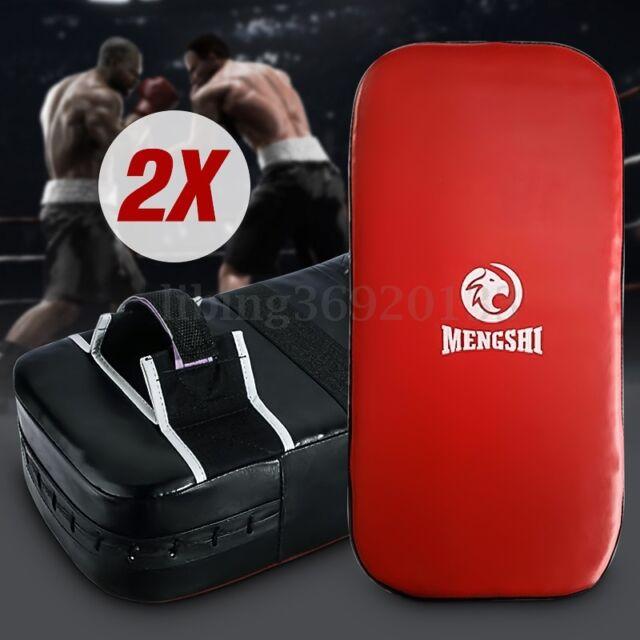 2X Pratze Handpratze Schlagkissen Schlagpolster Kickboxen Taekwondo Kick Pad