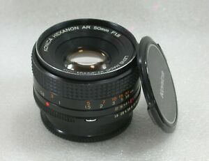 Konica-Hexanon-AR-50mm-F1-8-Manual-Focus-Standard-Lens-No-7126919