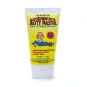 Boudreaux's Butt Paste Diaper Rash Ointment Tube - 4 oz