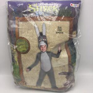 Image is loading Shrek-Donkey-Deluxe-Halloween-Costume-Disguise-Child-Small-  sc 1 st  eBay & Shrek Donkey Deluxe Halloween Costume Disguise Child Small 4-6 ...