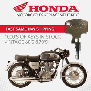 Honda motorcycle Replacement Keys A00-A99 B00-B99 C00-C99 D00-D99 Key to code