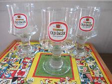 3  verres à bière MUTZIG beer glass