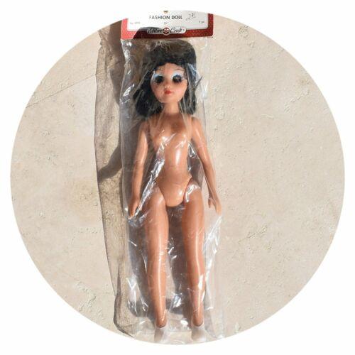 "3096 Black Hair Brown Eyes Fibre Craft 15/"" Female Fashion Doll No"