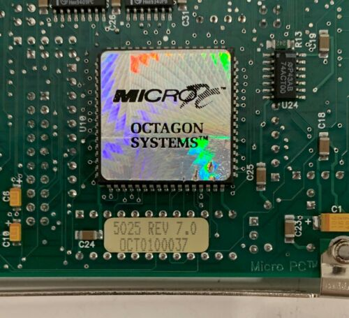 Octagon Systems 5025 REV 7.0 CPU CARD MICRO PC ISA BOARD W//ROM-DOS
